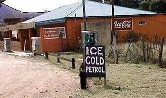 Somewhere in Africa....