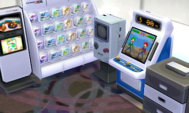 got Claude fixed up with his Nintendo store complete with out-of-date Nintendo products in the back room