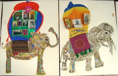 indische olifant - Kinderen & kleuren: mei 2011