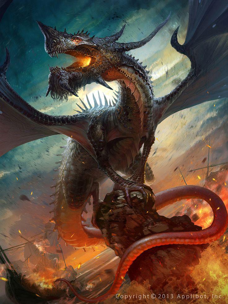 King Dragon_regular by Pavel Romanov   Fantasy   2D   CGSociety
