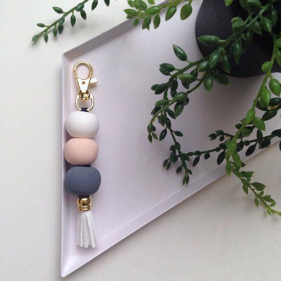 Daxley Designs Polymer Clay Keyring