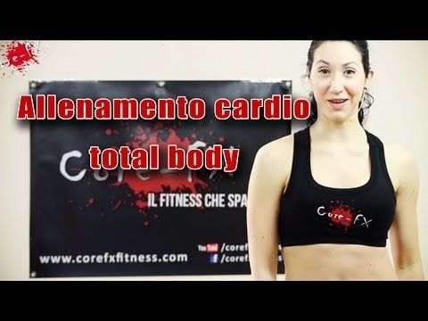 Allenamento Cardio Total Body - VICTOR 00 - CoreFx - esercizi in casa
