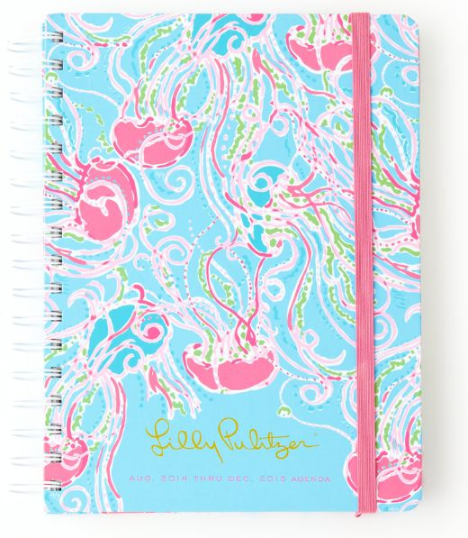 Lilly Pulitzer Large Agenda in Jellies Be Jammin