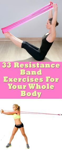 33 Resistance Band Exercises For Your Whole Body