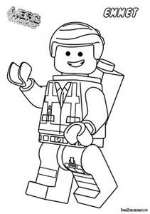LEGO People Coloring Pages