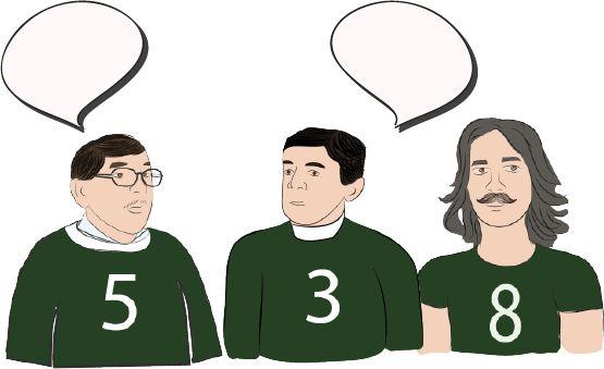 El trío..