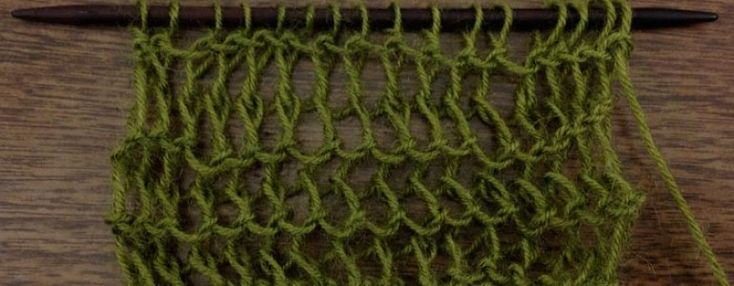 Example of the Veil Stitch