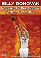 Billy Donovan: Individual Skill Development within Your Offense - Coach's Clipboard #Basketball DVD Store