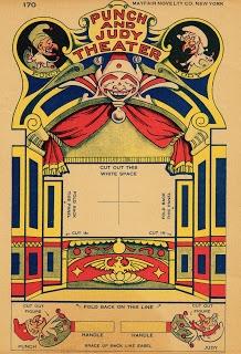 le Théâtre de Punch et Judy, datant des années 30...