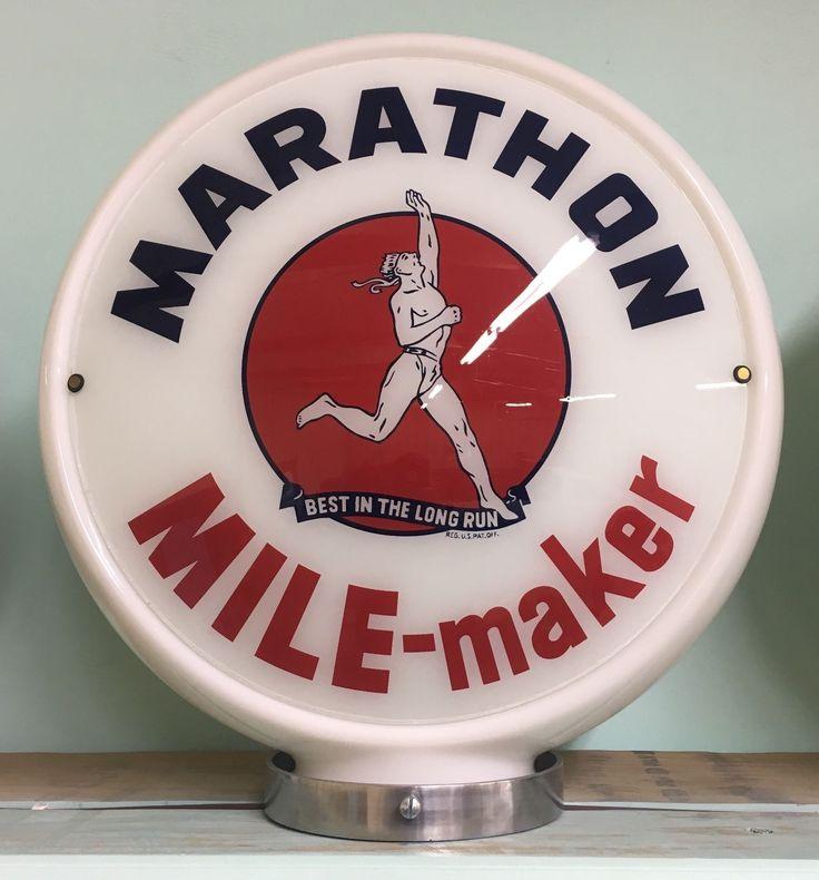 Marathon Mile-maker Gas Pump Globe