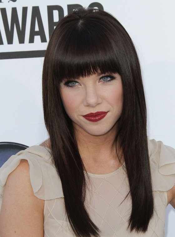 This Fetching Fringe Will Make You Want to Grab the Scissors! This is a must read for those with come hither eyes or high foreheads. We've got sensuous looks you'll not want to miss.