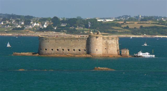 Château du TaureauPlouezoc'h baie de Morlaix dans le Finistère - BretagneFrance48.67573,-3.88447