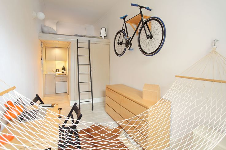 A Space-Saving 13 Square Meter Apartment in Poland | Home Design Lover