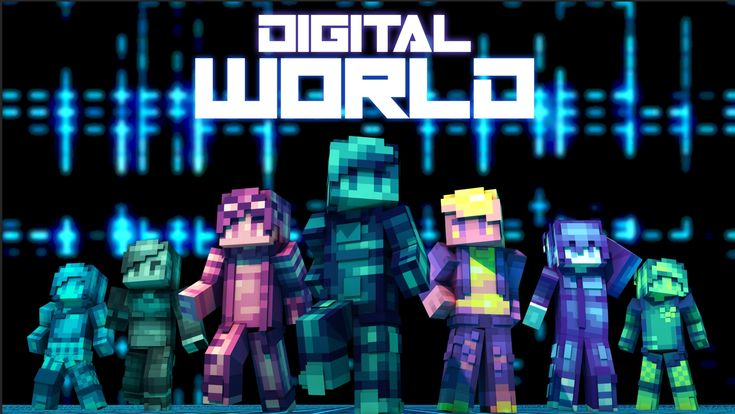 Digital World Minecraft Skin Pack Cops And Robbers Minecraft Skins Minecraft Art