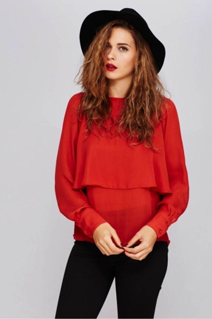 Lo último para ti!!! Blusa corte capa, el estilo que esta temporada rompe con todo. Colores #marsala o #mostaza. Tu eliges. ▶ http://regalva.com/blusac #camisas #tendencias #moda #ropamujer #capa