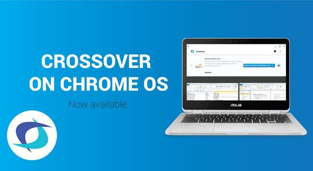Ya se puede instalar programas de Windows en ChromeOS con CrossOver