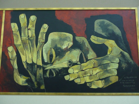 Guayasamin - the most famous modern artist from Ecuador, showing us the architectural quality of human form and emotion