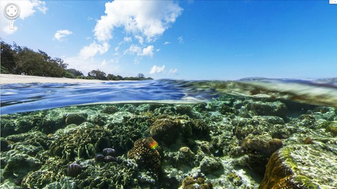 Google releases 'underwater street view' of Great Barrier Reef, more
