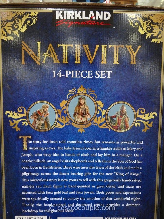 nativity sets for sale | Kirkland Signature Nativity Set Costco 2