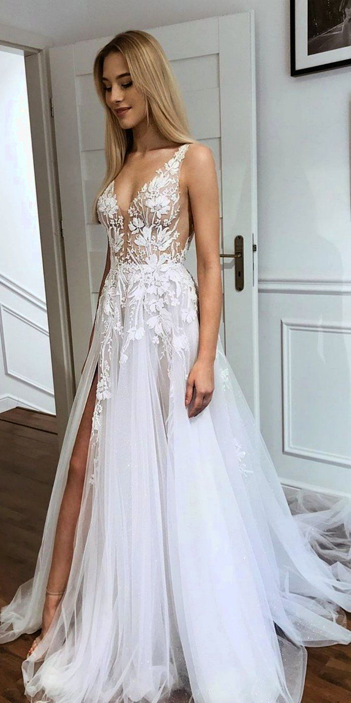 Top 100 Wedding Dresses From Etsy In 2020 Wedding Dresses Lace Wedding Dress Sleeves Wedding Dresses