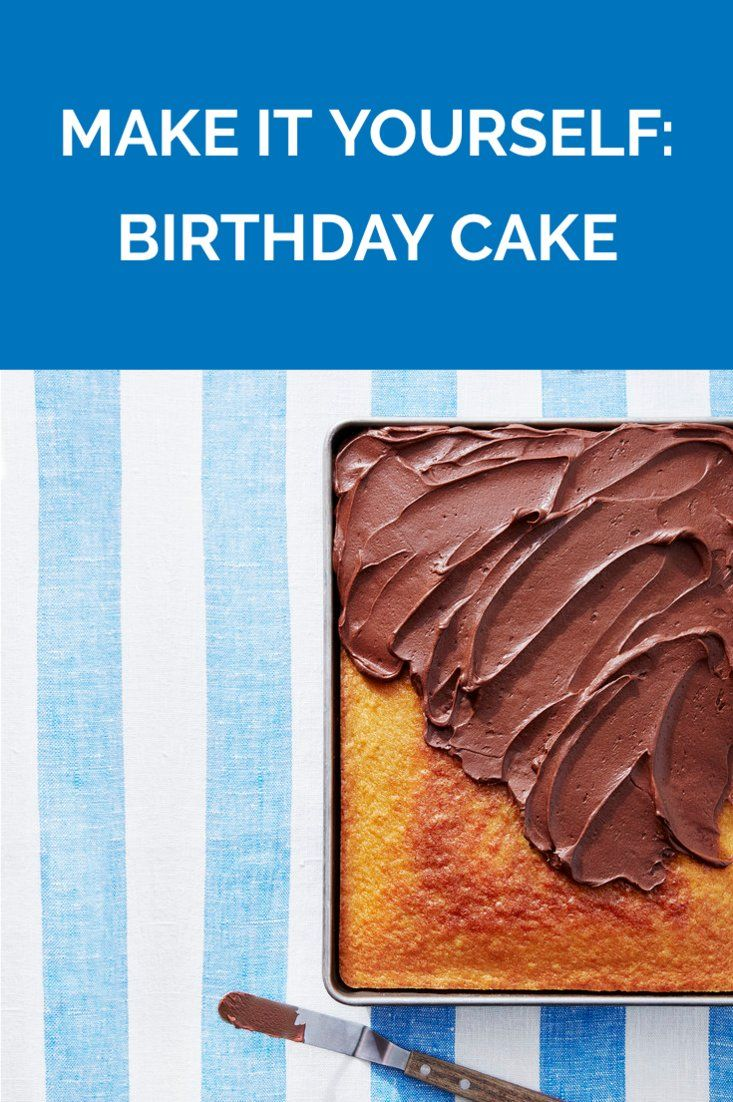 Machen Sie es sich: Geburtstagstorte | Holen Sie sich das Rezept für Make It Yourself: Geburtstag …   – Looks Yummy!