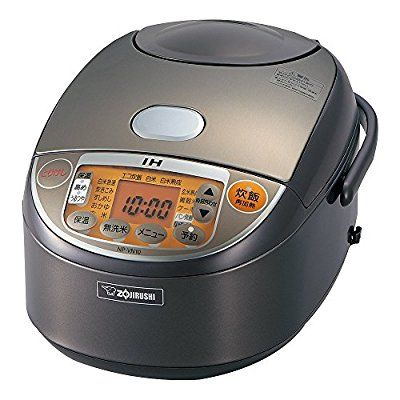 Amazon | 象印 炊飯器 IH式 極め炊き 5.5合 ブラウン NP-VN10-TA | 象印マホービン (ZOJIRUSHI) | ホーム&キッチン