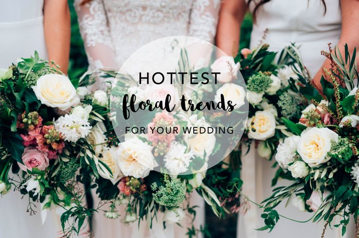 Find out the wedding floral trends to inspire you for your wedding. Styled by Foreva Events.
