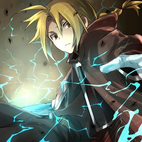 Edward Elric. Don't watch the show but I pin what my eye likes, and I like this pic.