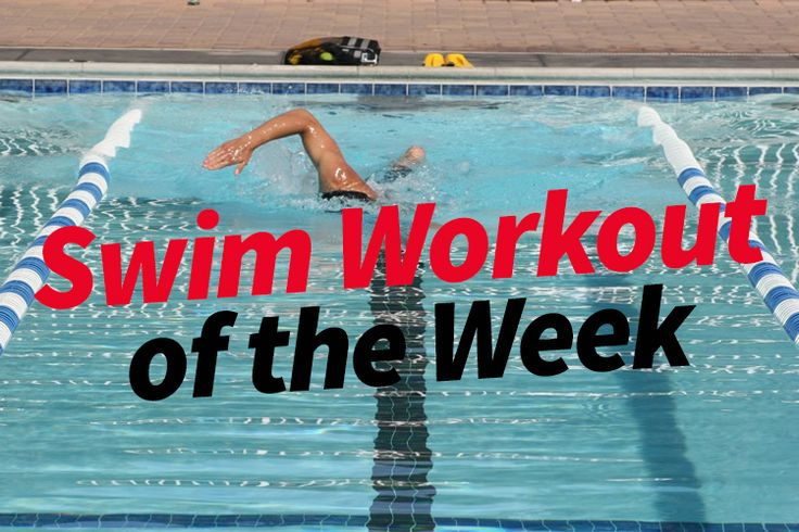 Three swim workouts for beginner, intermediate and advanced swimmers. Come back every week for a new workout!