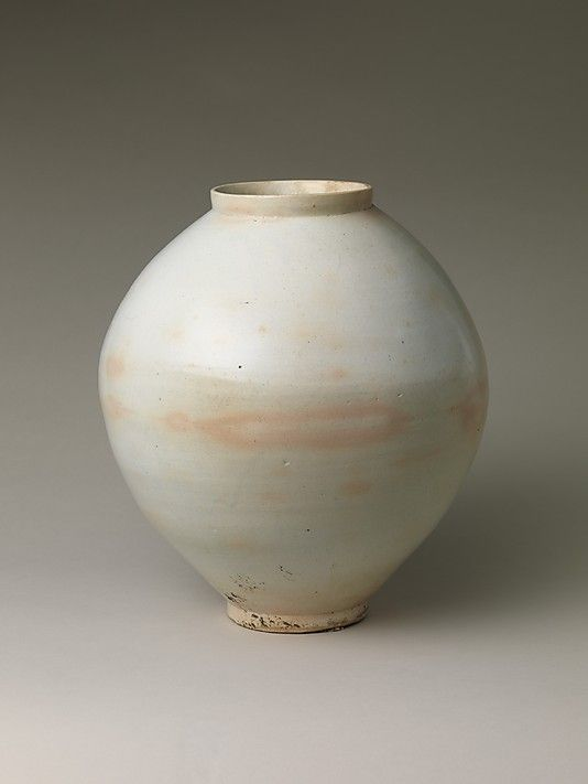 Moon Jar.   Korea, Joseon dynasty (1392-1910)