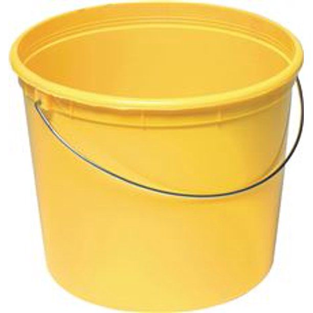 Warner Tool Products 302484 Promotional Plastic Bucket 5 Qt Walmart Com In 2020 Plastic Buckets Bucket Plastic