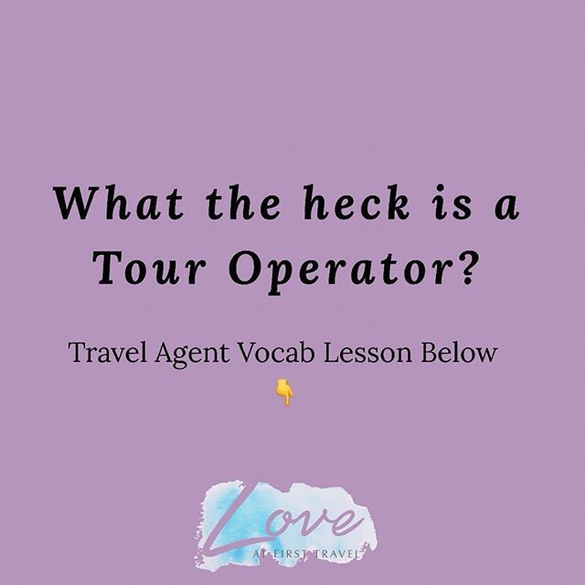 What the heck is a tour operator? And why should you use them? . I dont like to over complicate things but when planning a trip the word tour operator tends to come up and I recognize not everyone knows what it means (or at least what the heck I am trying to talk about) . Examples of Canadian tour operators are: Sunwing Air Transat Air Canada Vacations Westjet Vacations etc. In the most simple terms it is the company that is putting the package together. Whether or not that means flights and…
