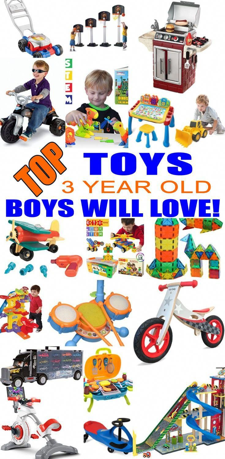 Top Toys For 3 Year Old Boys Best Toy Suggestions Gifts Presents A Third Birthday Christmas Or Just Because Find The And
