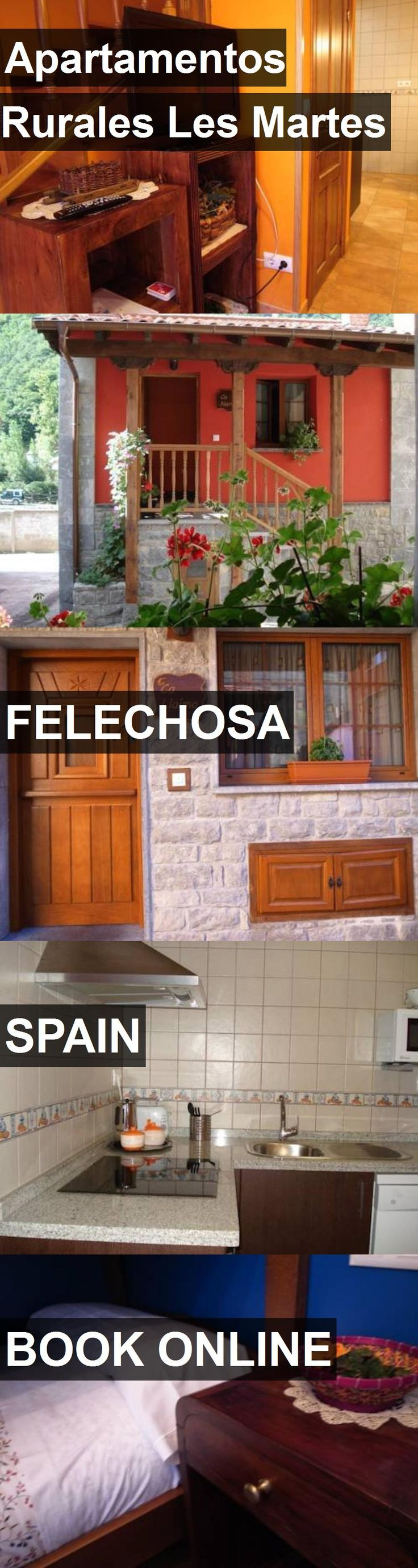 Hotel Apartamentos Rurales Les Martes in Felechosa, Spain. For more information, photos, reviews and best prices please follow the link. #Spain #Felechosa #travel #vacation #hotel
