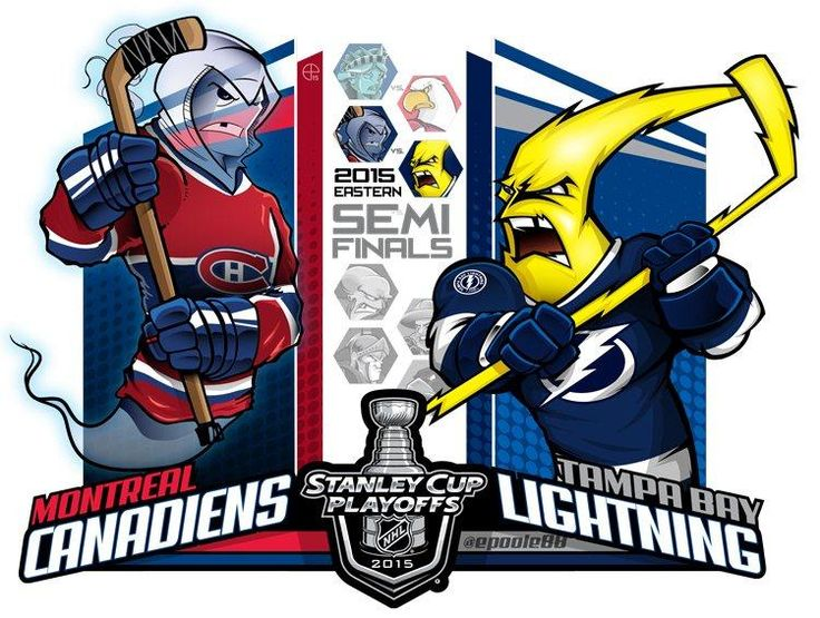 Round 2,Demi-final d'association Canadiens vs Lightnings