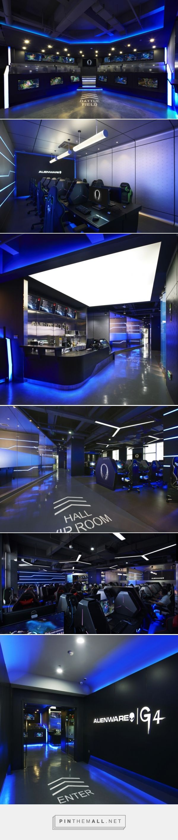 Alienware+G4 Internet café by Gramco, Ningbo – China --- http://retaildesignblog.net/