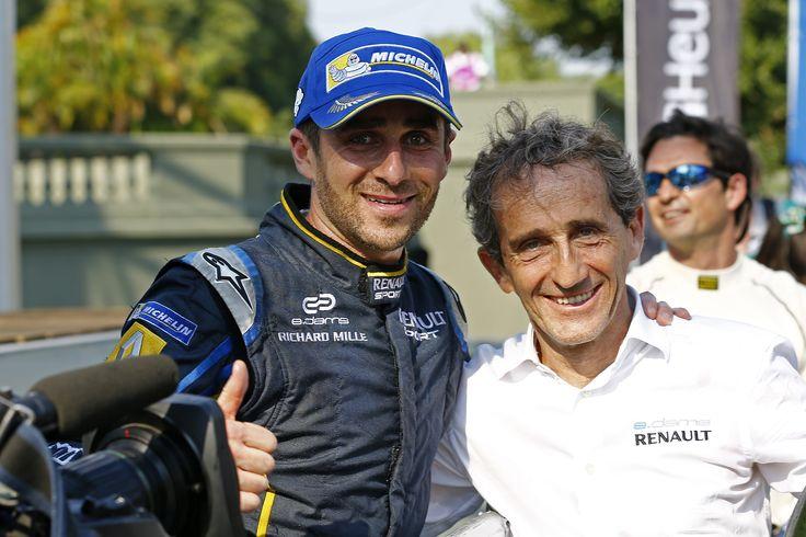 Fia Formula e - Nicolas Prost and Alain Prost