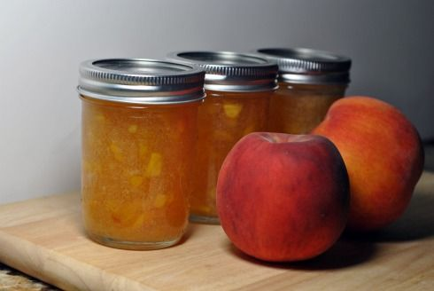 Bourbon Peach Jam (adapted from Better House and Gardens) | Recipe