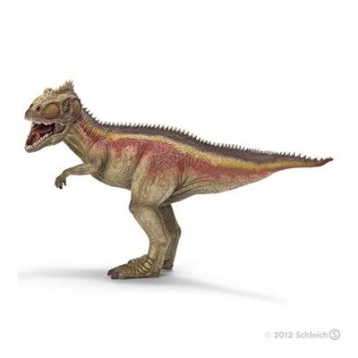 Schleich Dinosaur Giganotosaurus -   27cm solid plastic toy dinosaur from Schleich, made to last and perfect as a collectable or a gift. The main materials used are a variety of plastics and a special softener specifically designed so that small parts cannot break and to ensure the figures are pleasant to the touch and not too hard.