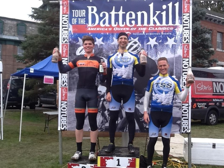 Tour of Battenkill 2013  UNOVELO rider Alec Hoover takes 2nd place on his SLS1018!
