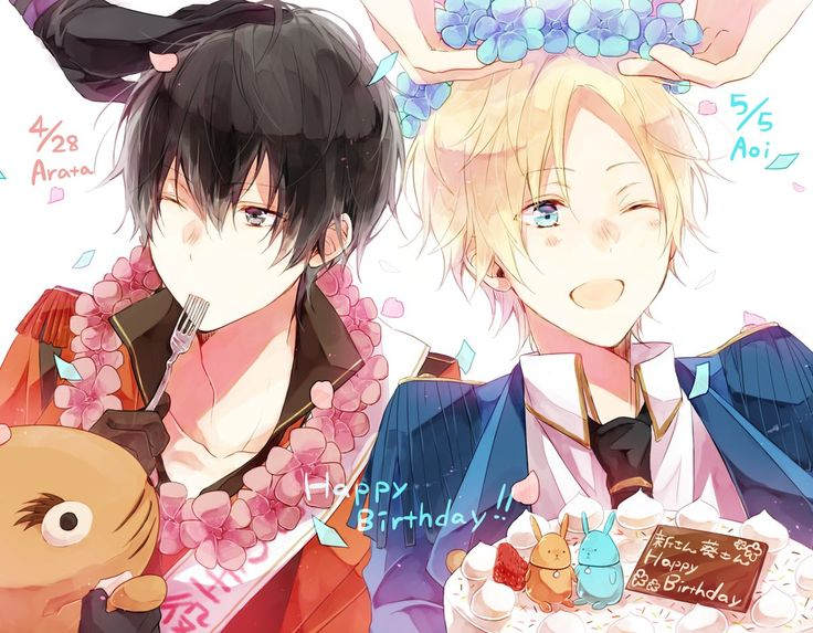 Aoi and Arata