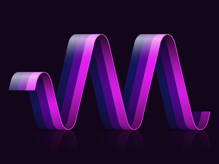 A1–Z26 / M13 V1 #graphic #design #typography #ribbon