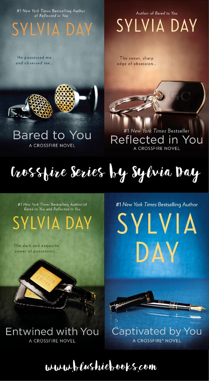 Hot Sexy Book Series! @blushiebooks CROSSFIRE series by Sylvia Day. Obsessed with Gideon and Eva's story, a must read series for your 50 shades hangover!