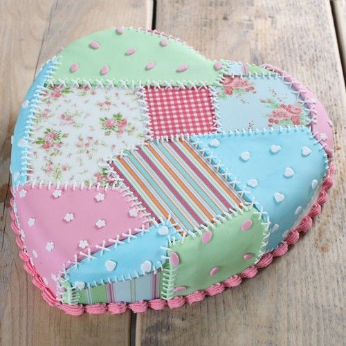 Recipe: Patchwork cake | Deleukstetaartenshop.com