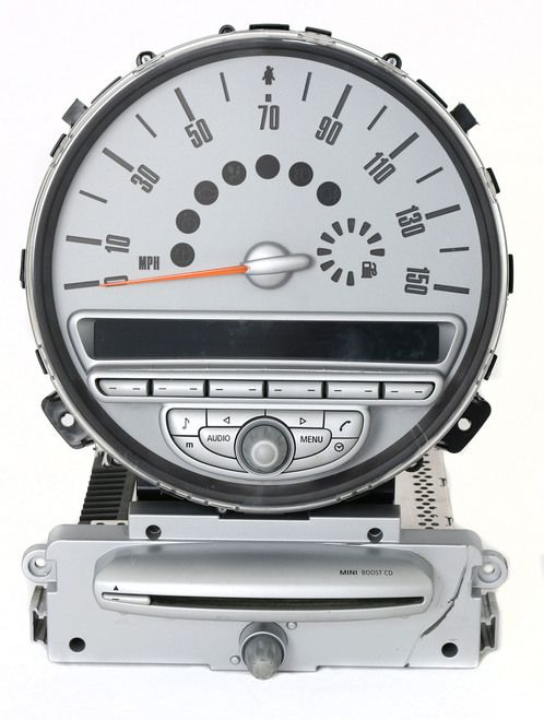 Mini Cooper Clubman 2007-2010 AM FM Radio Single CD Speedometer 65.12-3453634-01