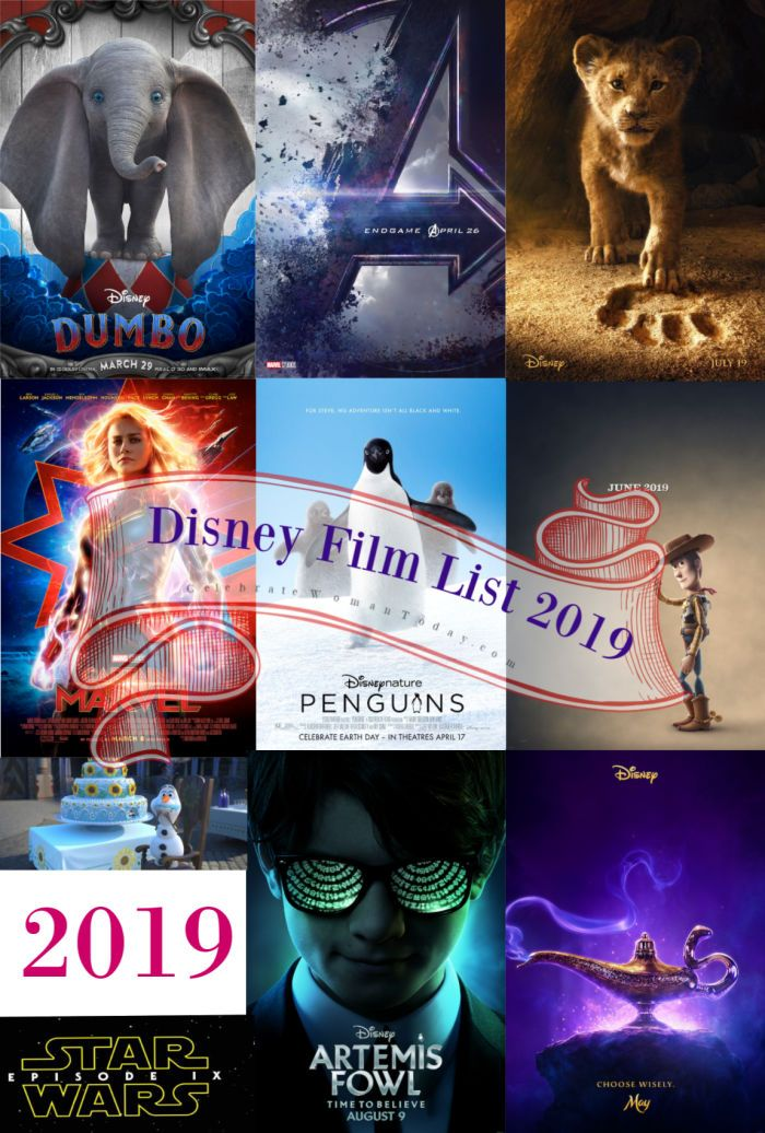 Heres Your Disney Movie List 2019 With Exciting Movie Releases From