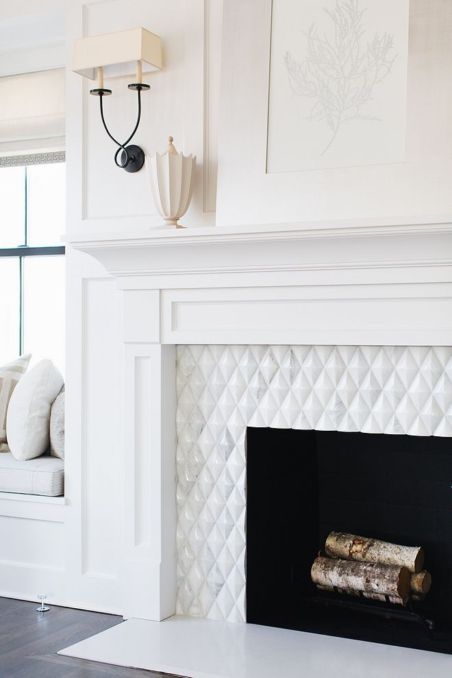 Fireplace Tile Beveled Diamond Fireplace Tile Source On Home Bunch Fireplace Tile Fireplace Tile Fireplace Fireplace Design Fireplace Tile Victorian Fireplace