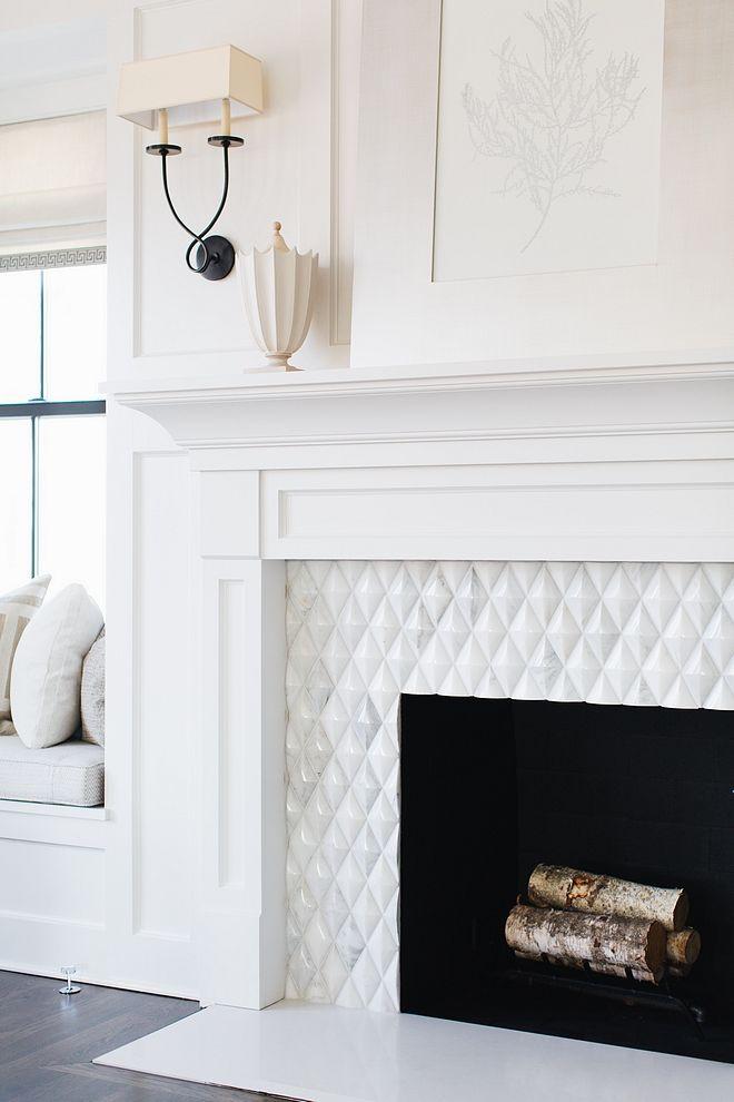 Fireplace Tile Beveled Diamond Fireplace Tile Source On Home Bunch Fireplace Tile Fireplace Tile Fireplaceti Fireplace Design Fireplace Tile Fireplace Remodel