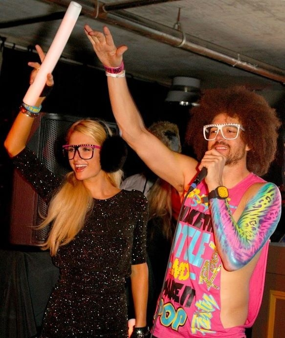 Me with Redfoo at Sundance! We're sexy and we know it!