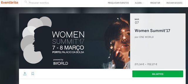 Women Summit17  7 8 MAR @PORTO
